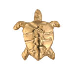 Turtle - Gold Charm